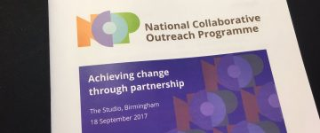 RT Jenny Ann (Allen) @policyJenny: Starting soon, follow the action on #HEFCEoutreach https://t.co/KmIoWQ5Vy5 image